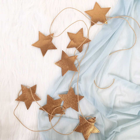 STAR GARLAND GOLD