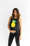 KAWAII PINEAPPLE TANK TOP ADULT UNISEX