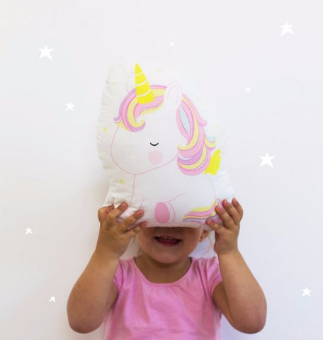 CUSHION: UNICORN