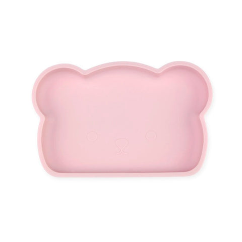 BEAR SILICONE PLATE - ASH PINK (LIMITED EDITION)