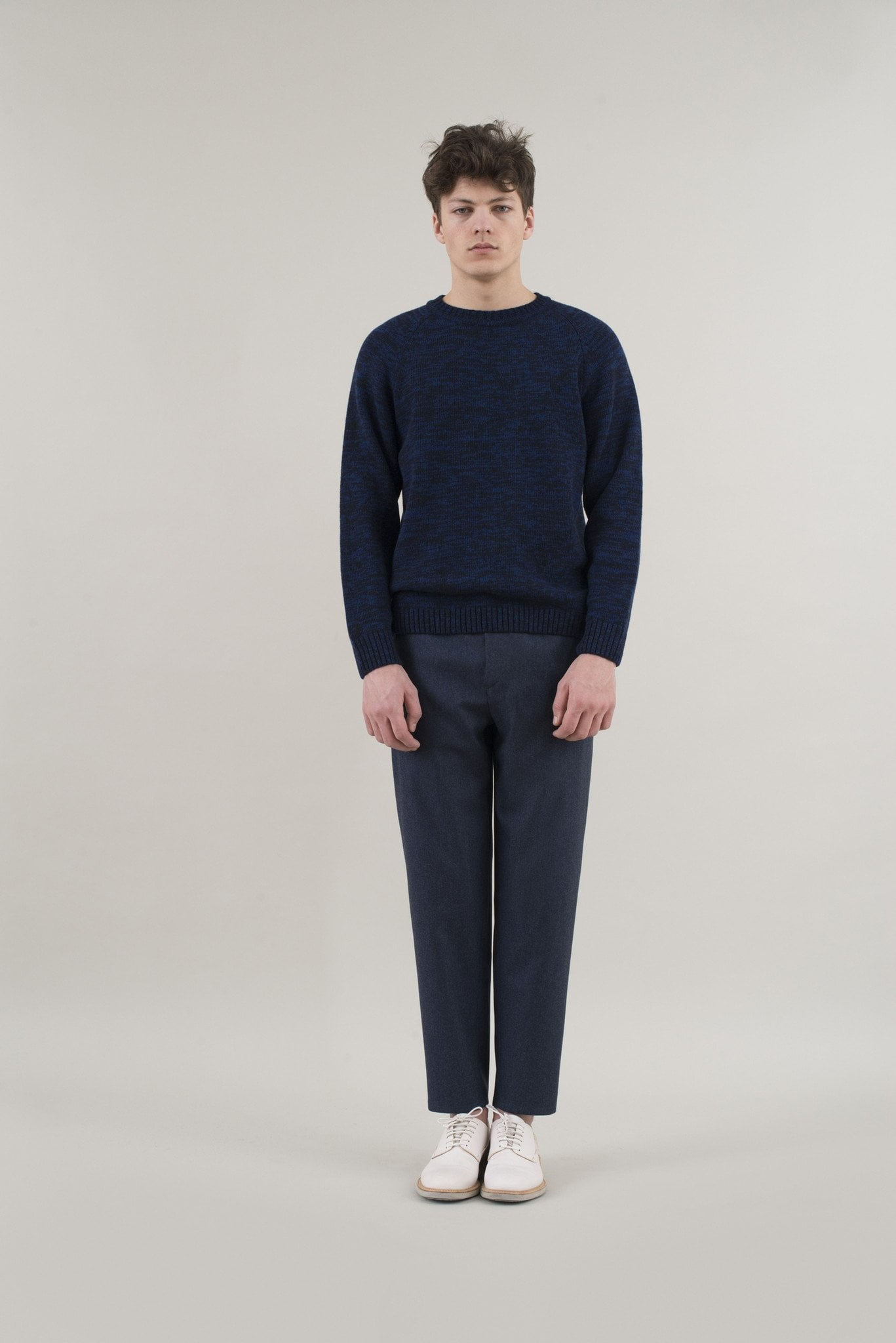 Sweater Kamitani - black/blue