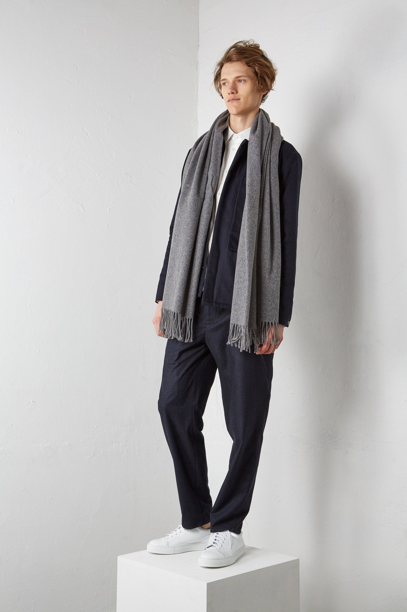 Scarf - 70200 - heather gray