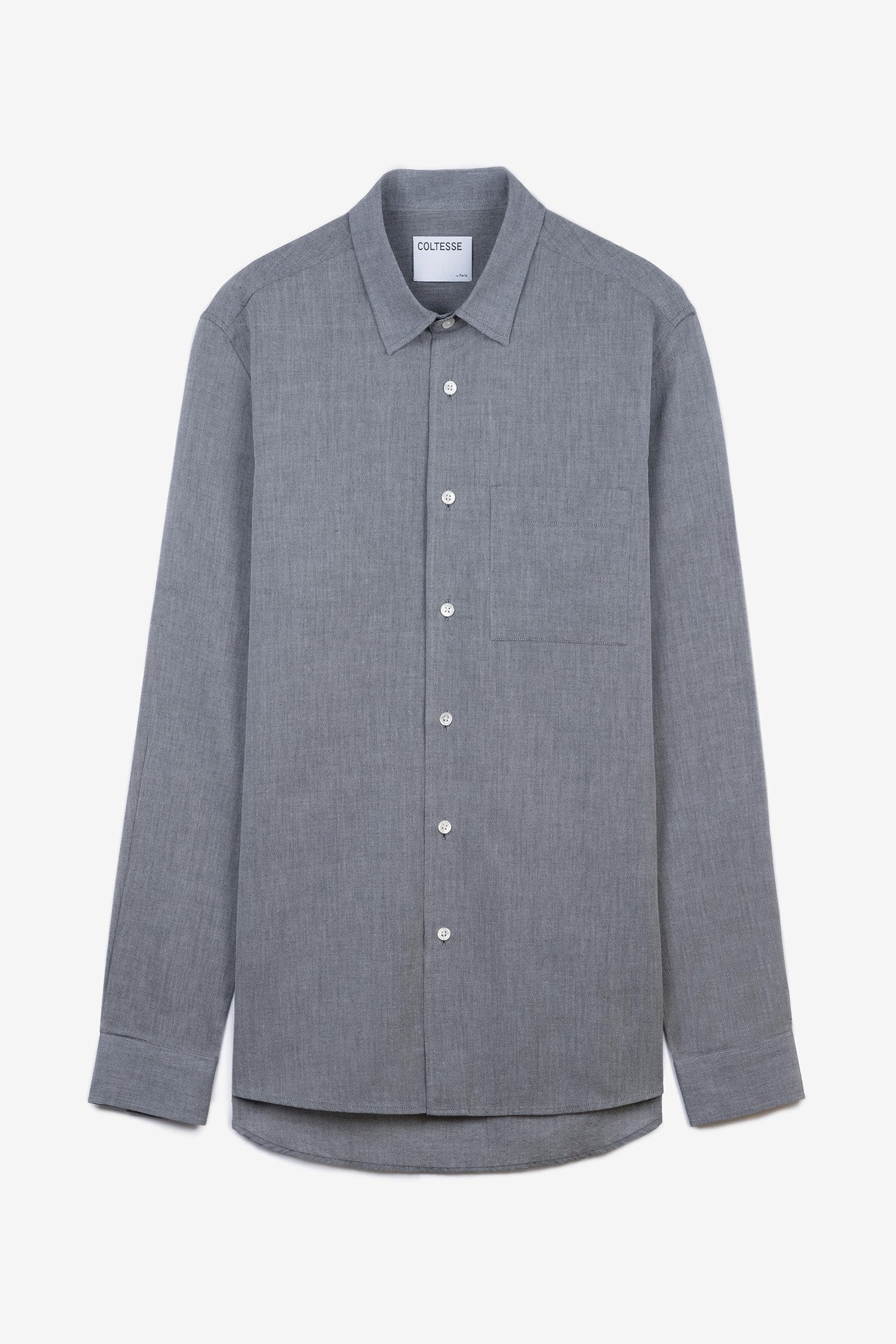 Shirt Alpher - scratch gray