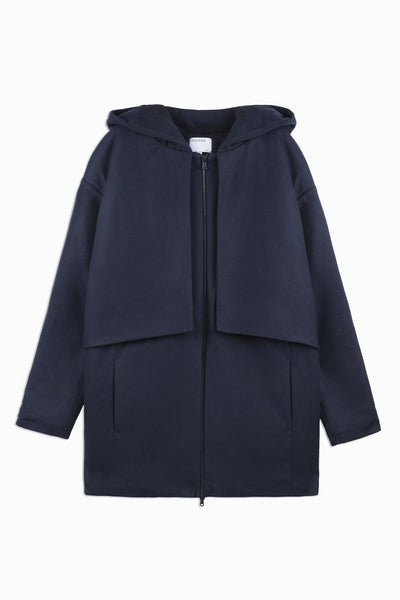 Coat Hervey - dark navy