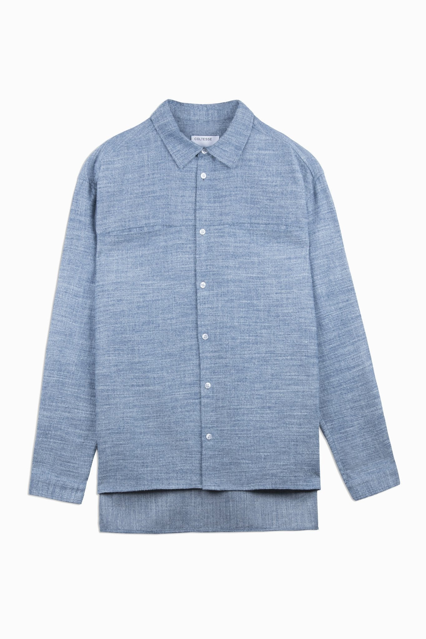 Shirt Wild - mouline blue