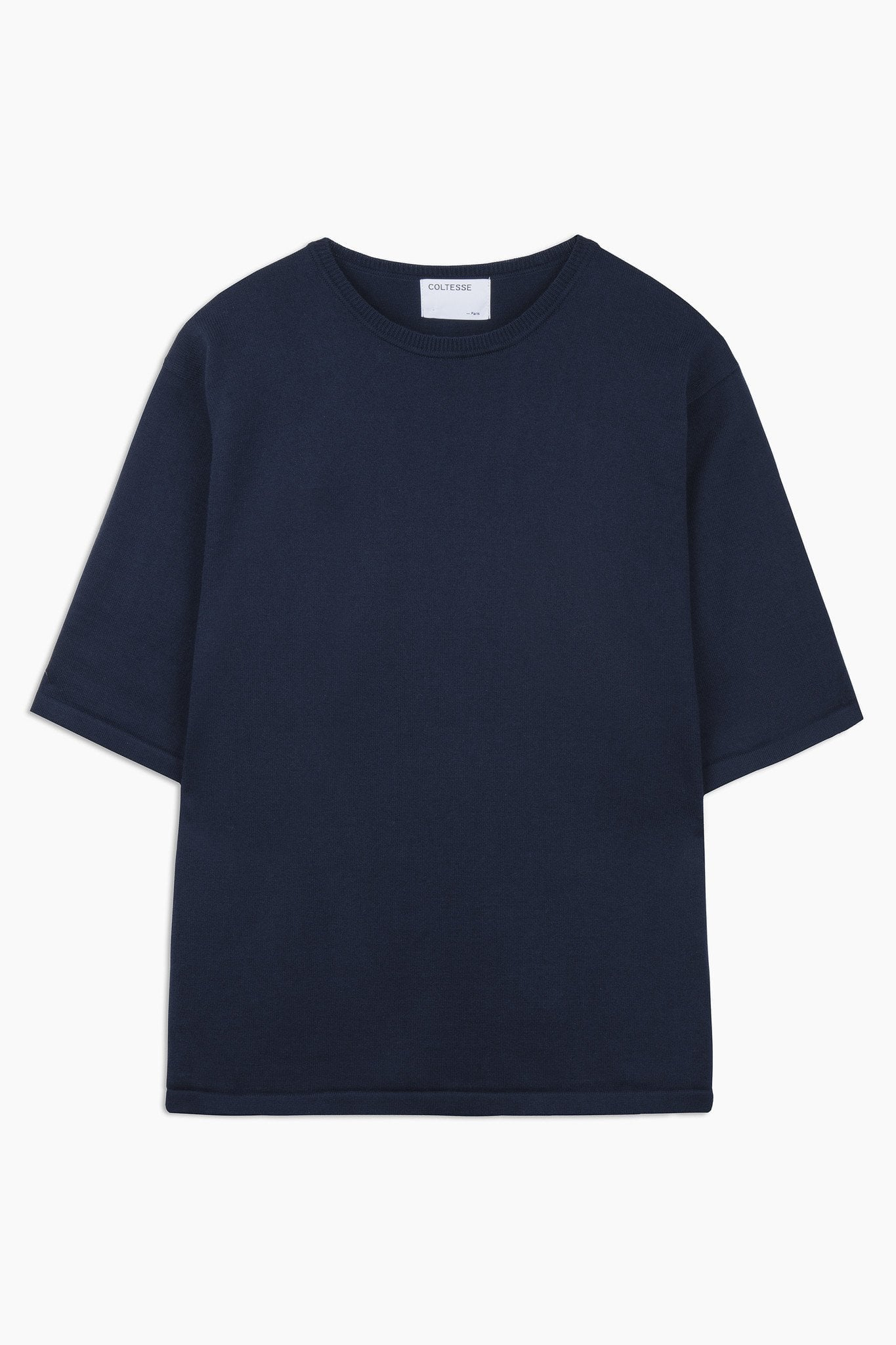 Knit tee Jabal – dark navy
