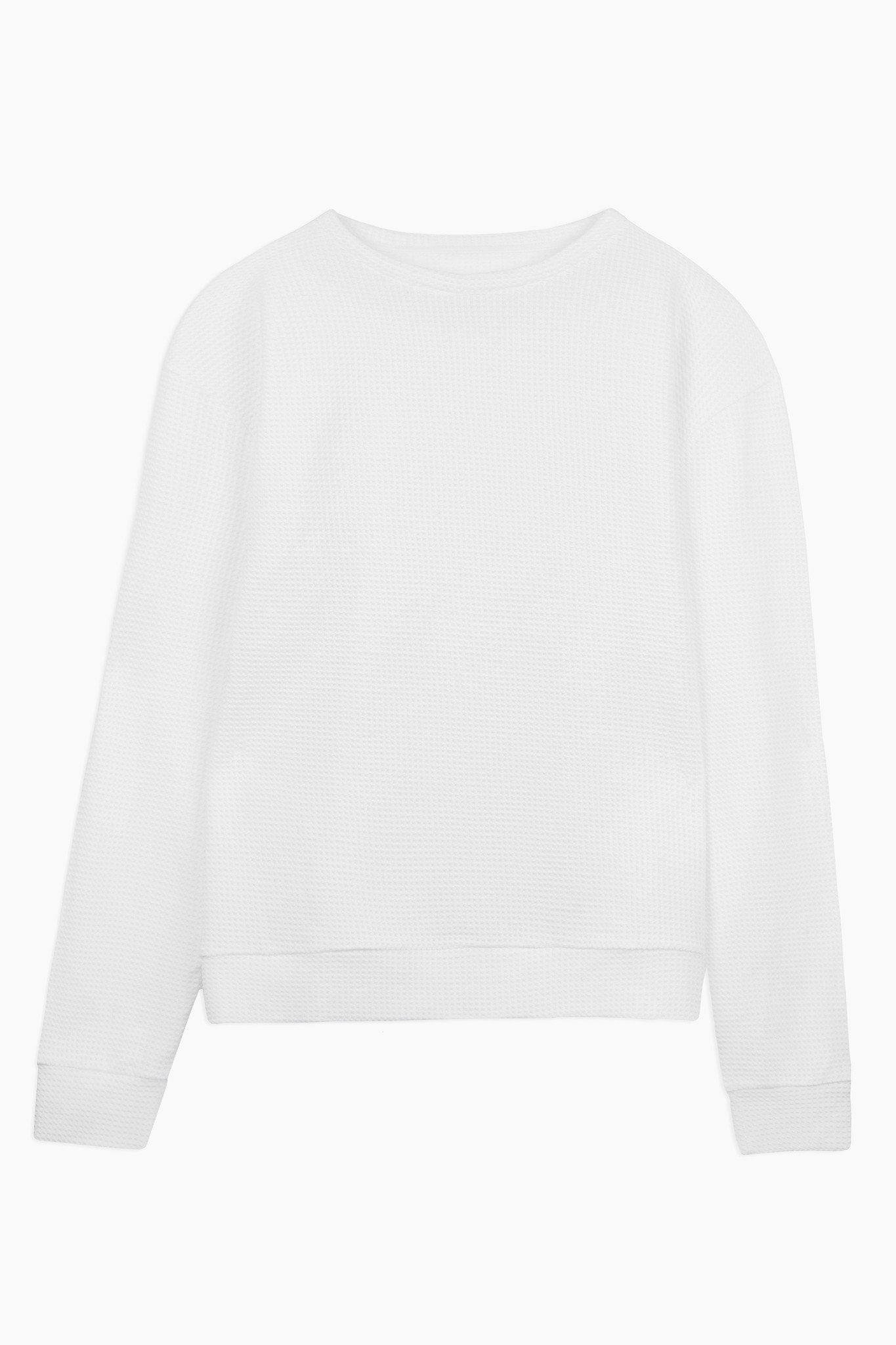 Sweat-shirt Wallis – white