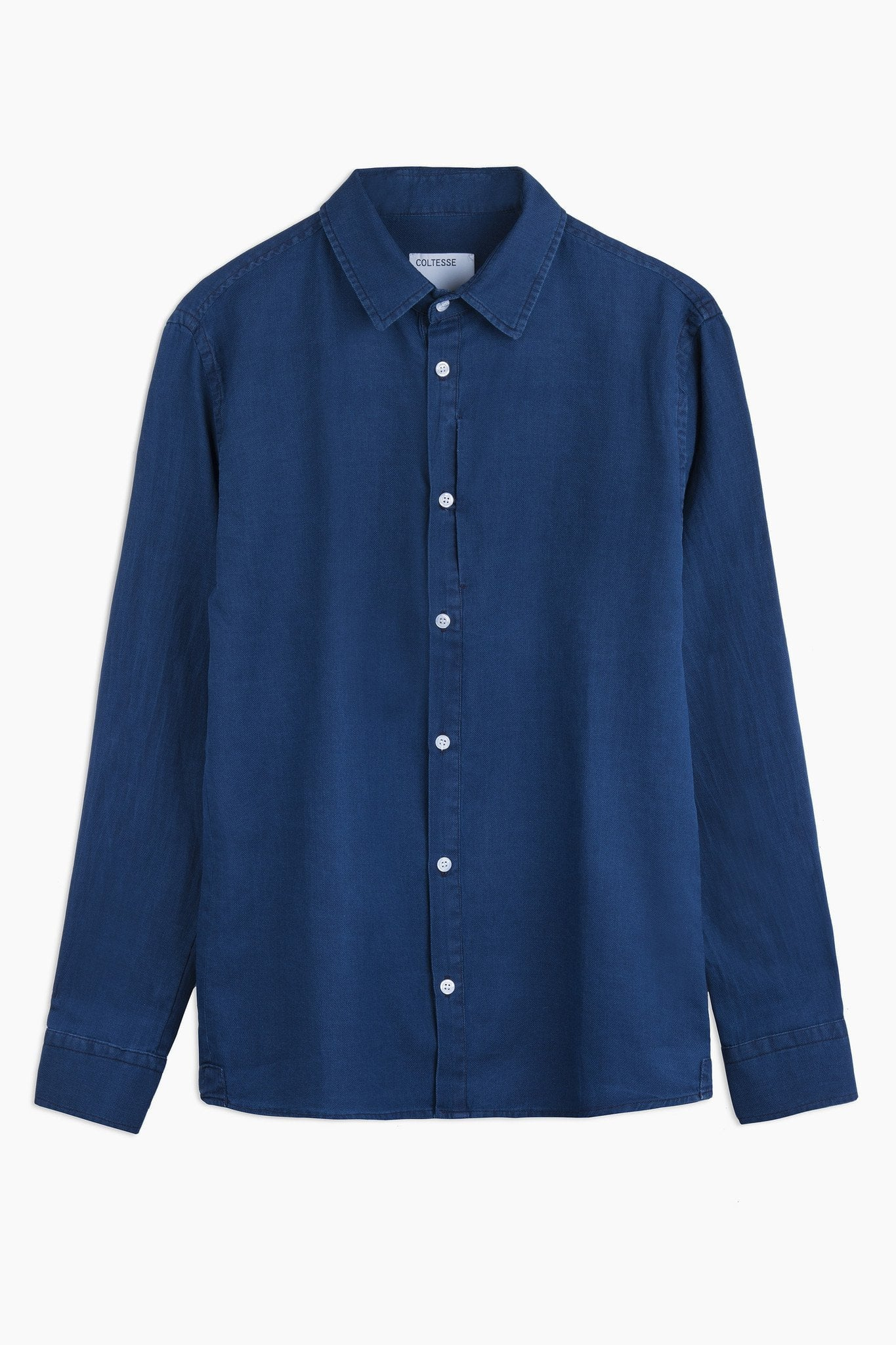 Shirt Napoleon – washed blue