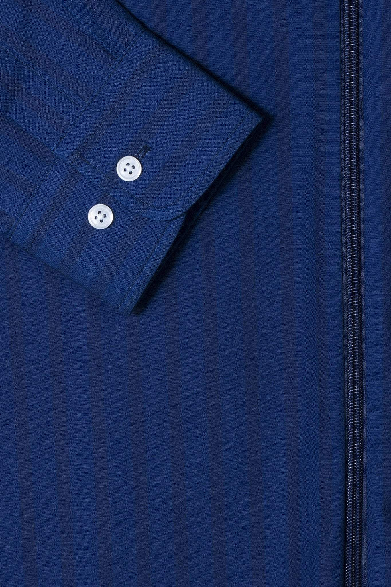 Outershirt Verto - blue lined