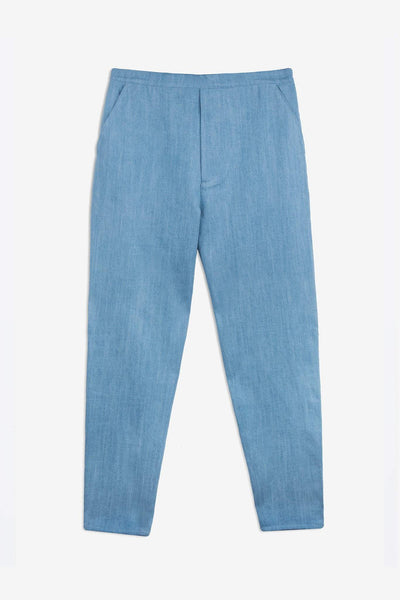 Pants Sudden - bleached denim