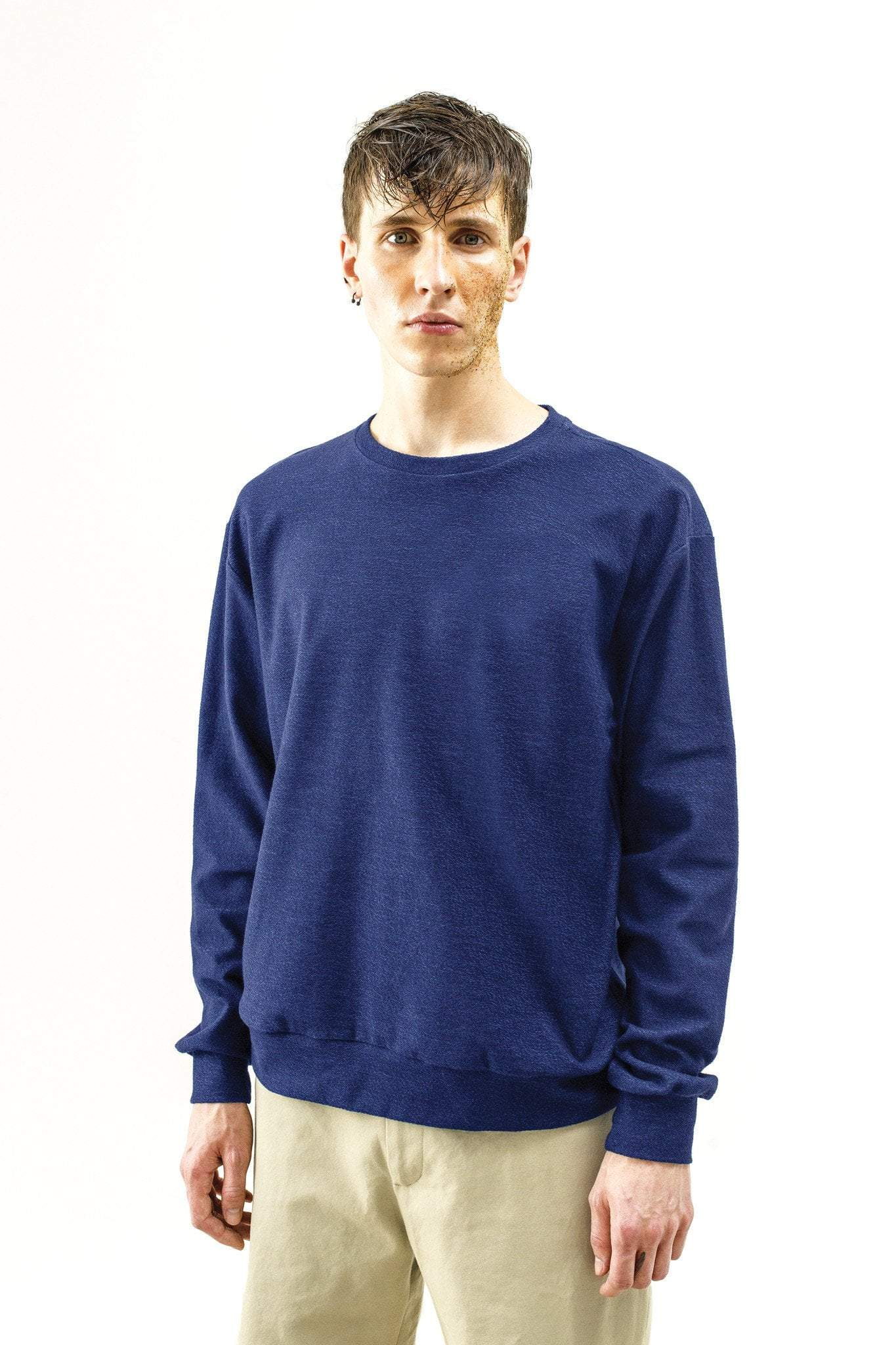 Sweat-shirt Amini – reverse blue