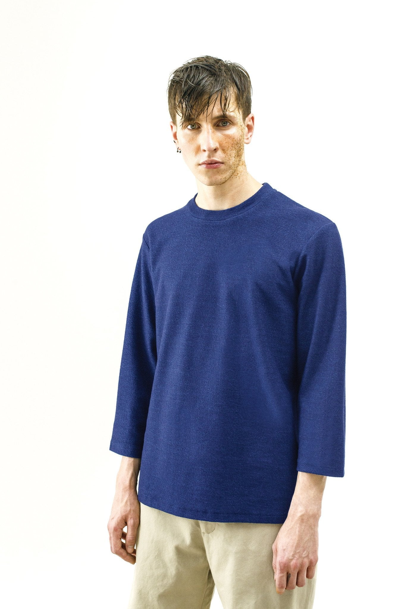 Sweat-shirt Sassie – reverse blue