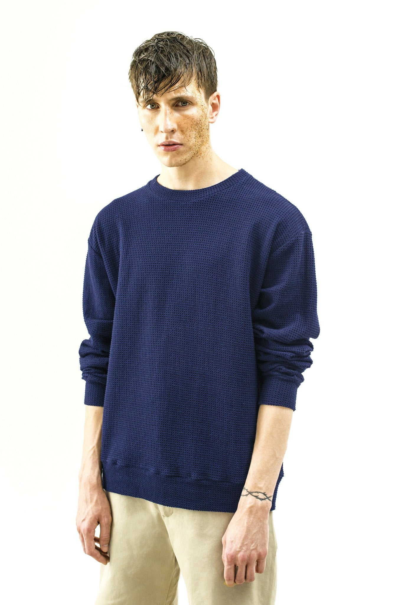 Sweat-shirt Wallis – navy