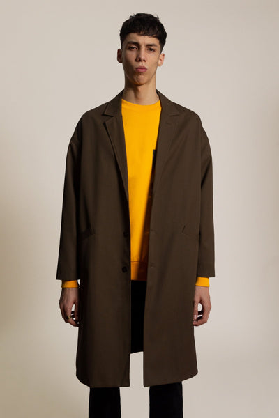 Coat Columba - kaki
