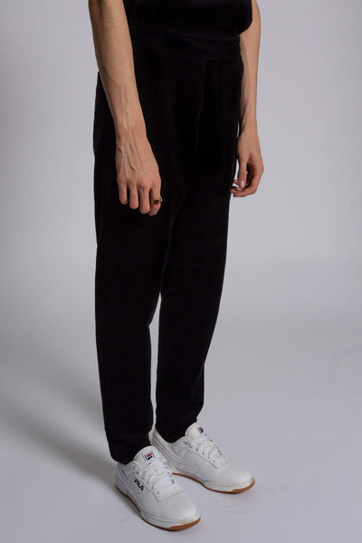 Pants Sudden – black corduroy