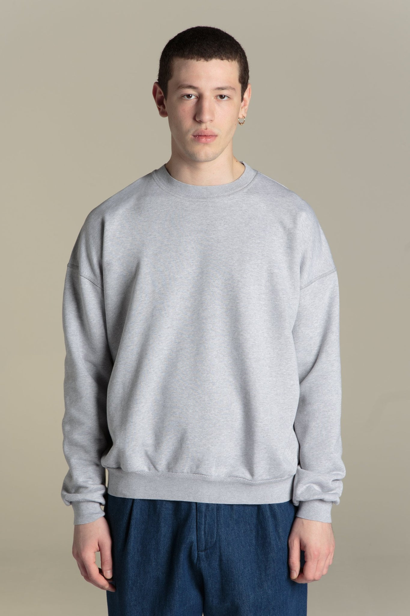 Sweatshirt Biggie - heather gray