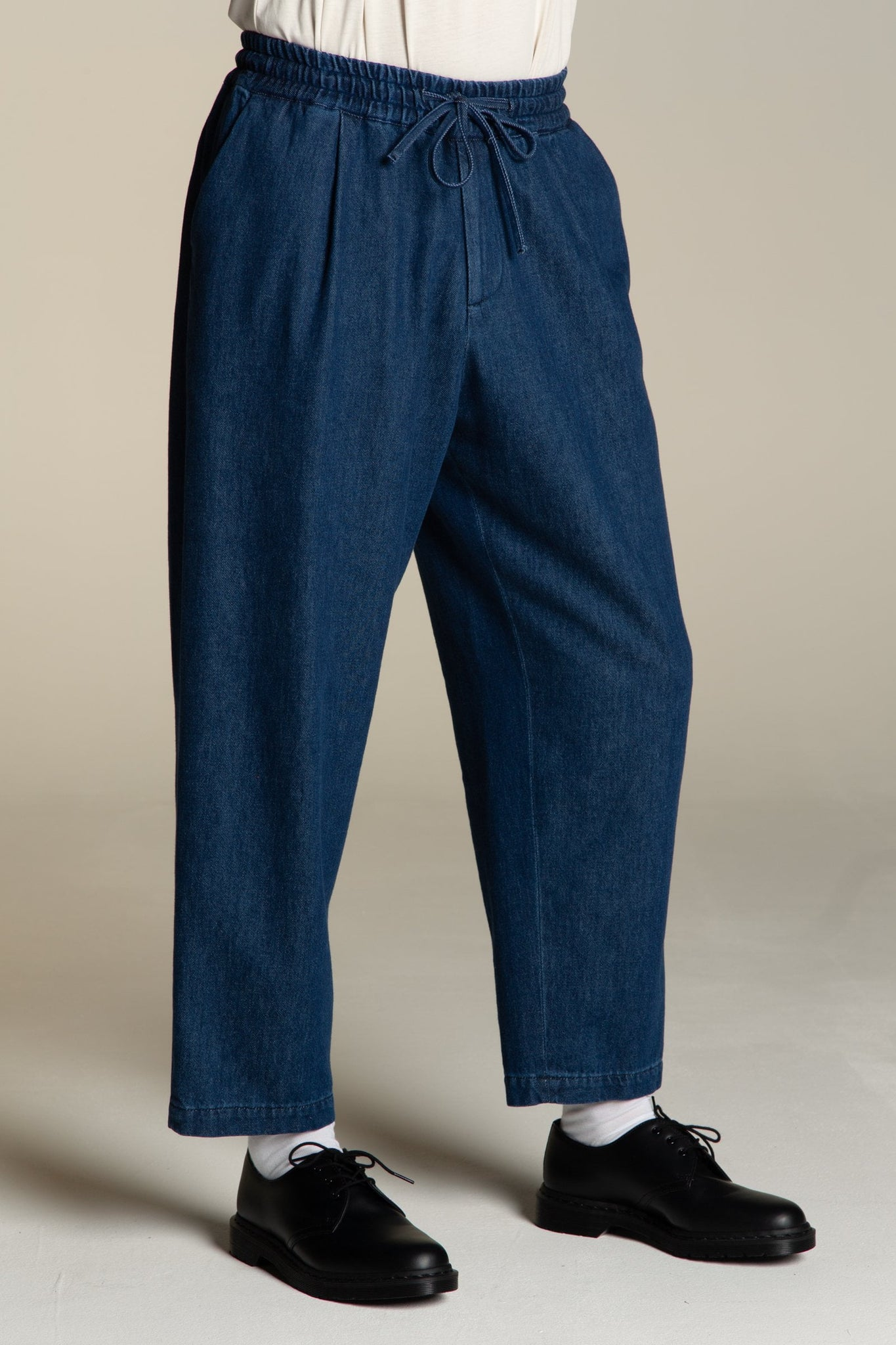 Pants oversize denim – stone blue
