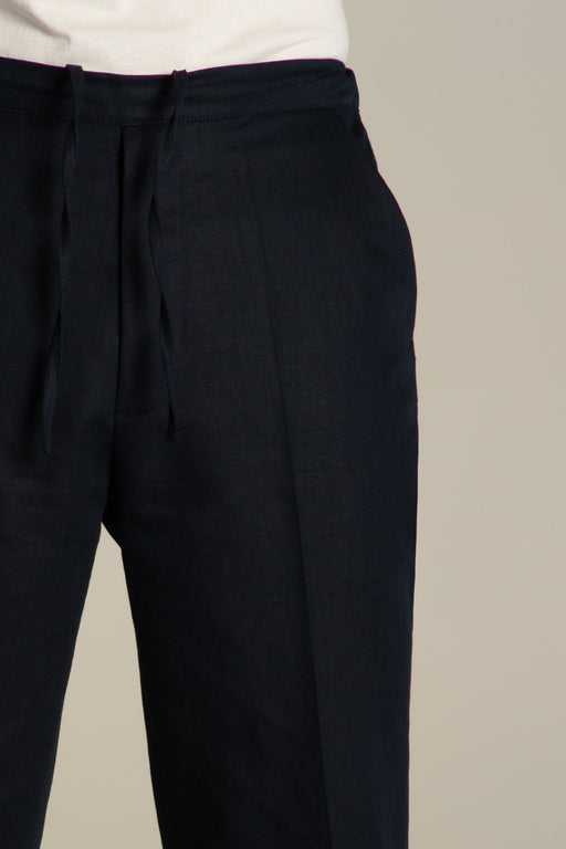 Pants Sudden - dark navy