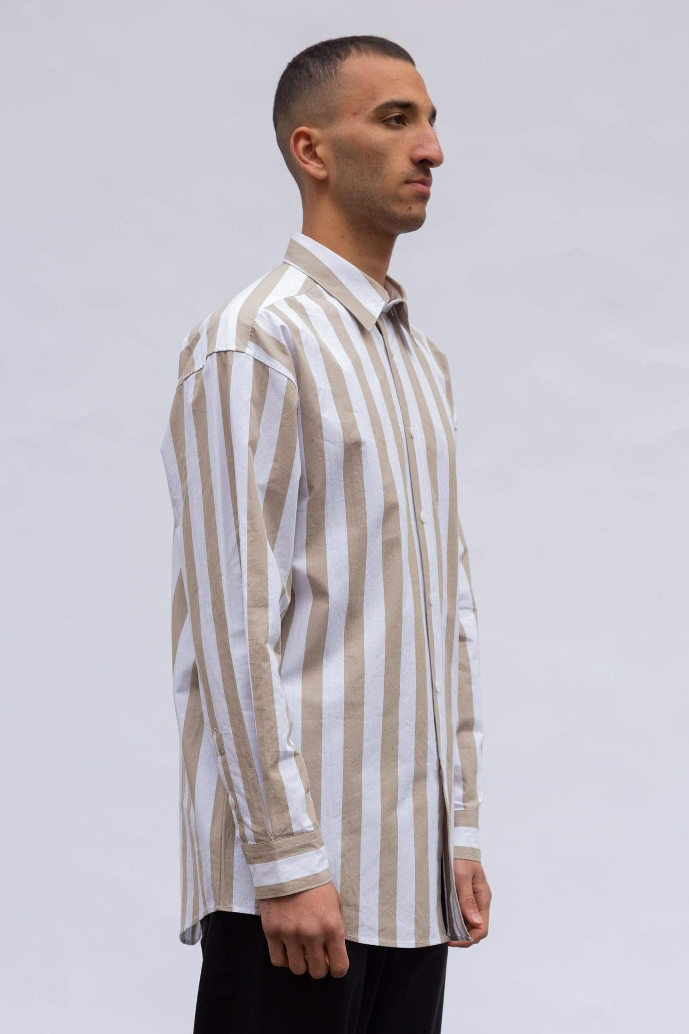 Large Fit - Terra Stripe