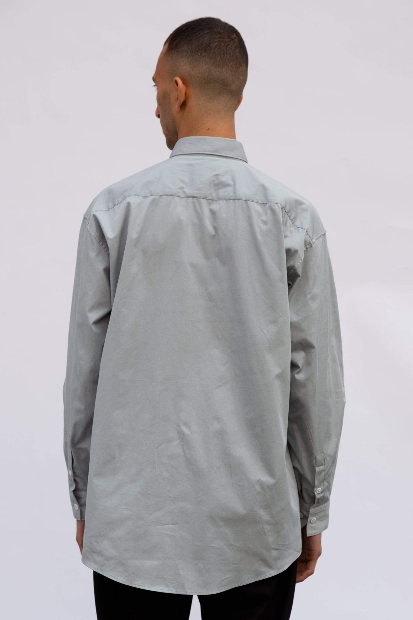 Large Fit - Light Gray