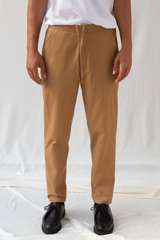 Half Elastique Belt - Light Brown
