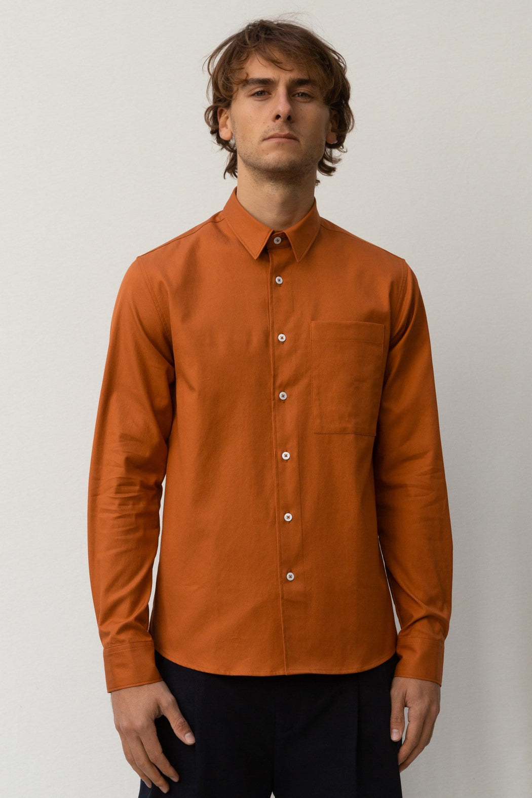 Classic Fit Pocket - Rust