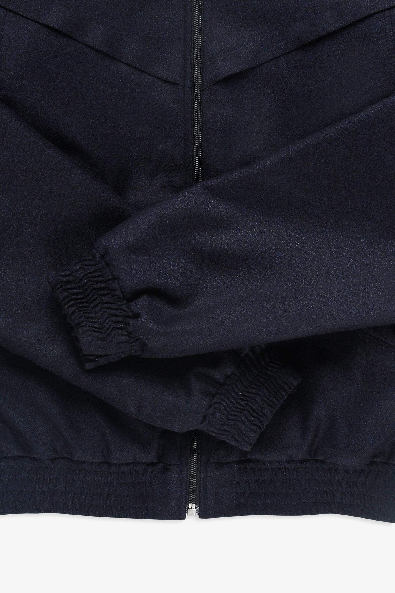 Sport zip jacket - blue black