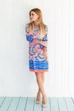 Daphne Dress Coral Shell