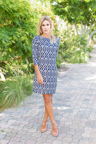 Daphne Dress Celtic Navy