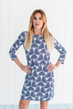 Daphne Dress Palmyr Navy