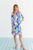 Daphne Dress Palm Supreme