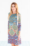 Daphne Dress Turkish Delight Multi