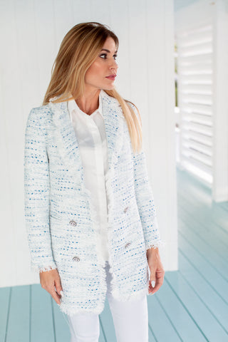 Coco Jacket Icicle Blue