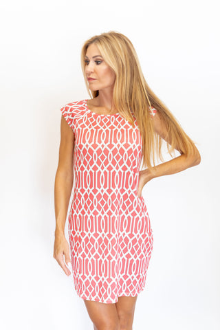 Lily Dress Celtic Coral