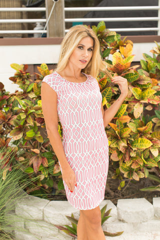Lily Dress Celtic Pink