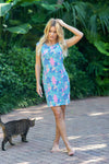 Lily Dress Seychelles Blue