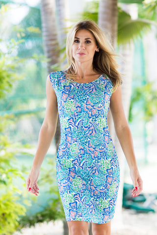Lily Dress Seychelles Green