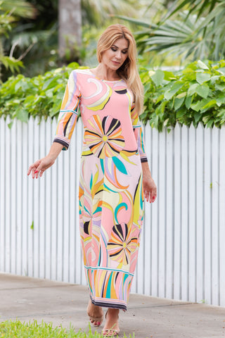 Athena Long Dress Andalucia