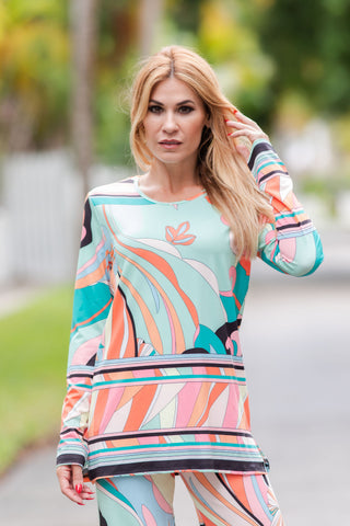 Daphne Tunic Top Cosmo
