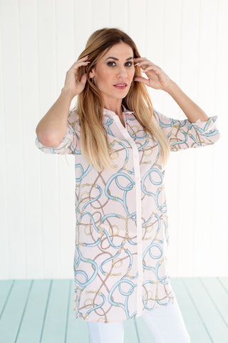 Naples Tunic Fountainebleu Pink