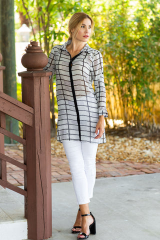 Naples Tunic Damier Black