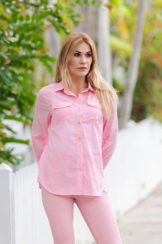 Braxton Shirt Solid Candy