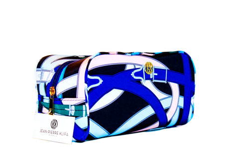 Cosmetic Case Hermes Blue