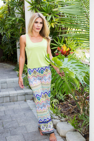 Lounge Pants Ikat Multi