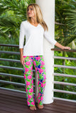 Boulevard Pants Fluo Flamingos