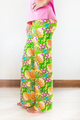 Boulevard Pants Fluo Pineapple