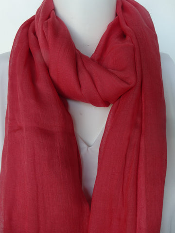 Modal Scarf Coral
