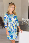 Daphne Dress Catalina Lime