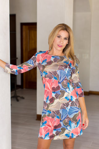 Daphne Dress Fresia Multi