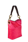 Nylon Bucket Bag Fuchsia